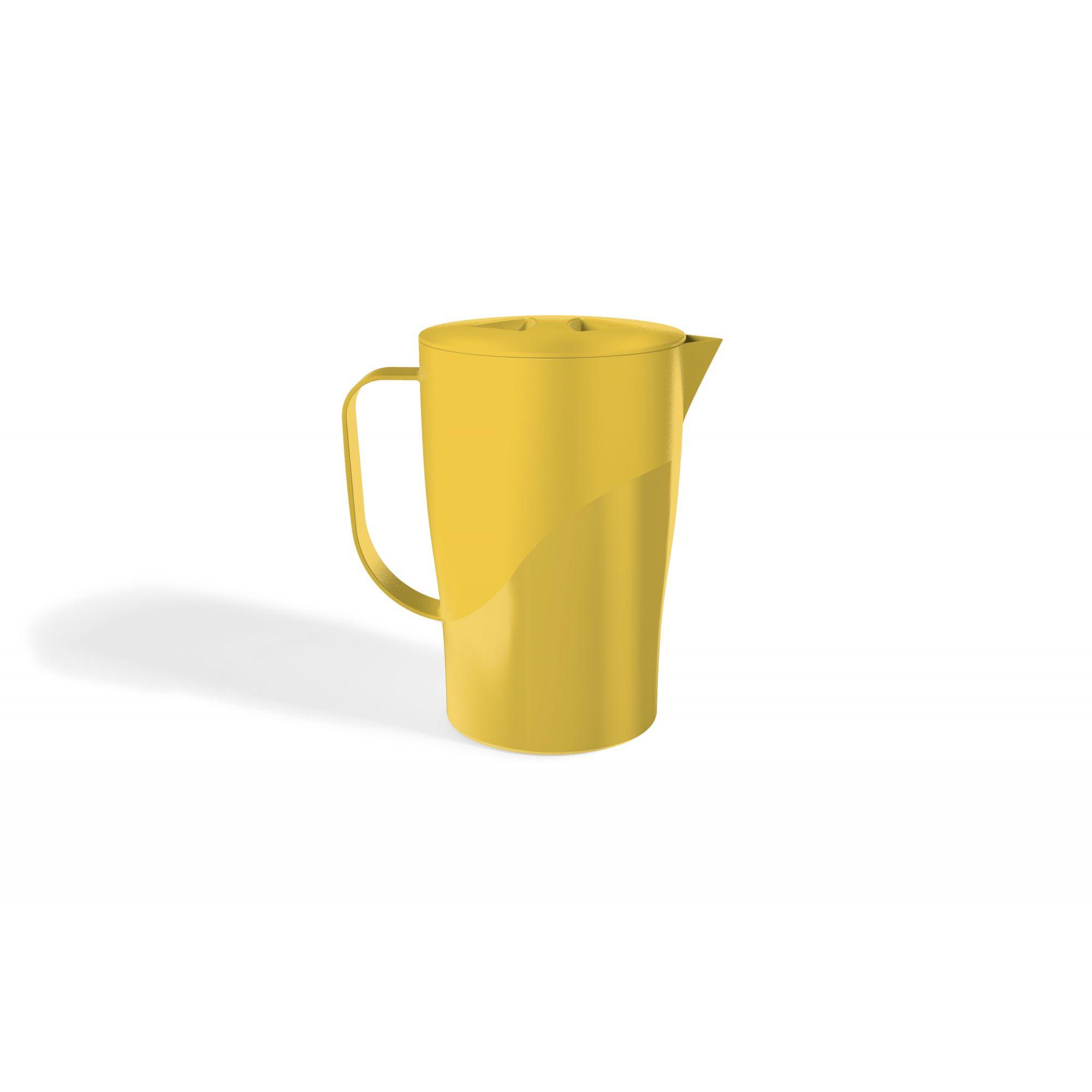 Jarra 2,0 Litros Solido Liso UZ - Amarelo