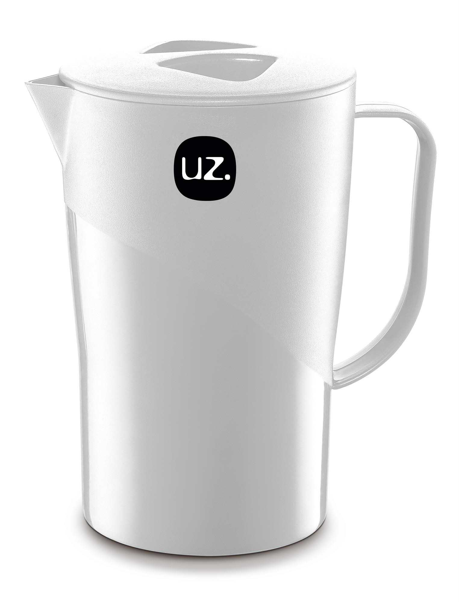 Jarra 2,0 Litros Solido Liso UZ - Branco