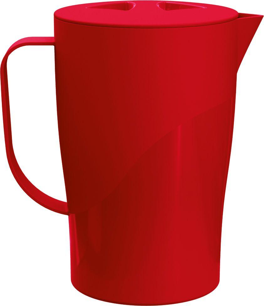 Jarra 2,0 Litros Solido Liso UZ -  Vermelho