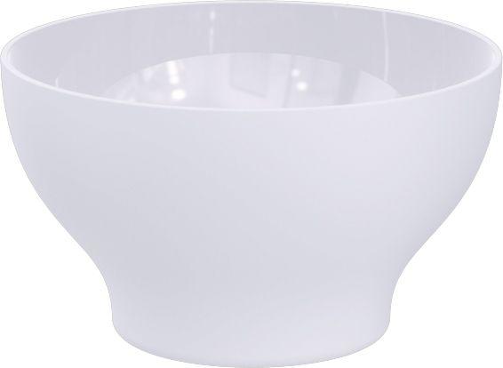 Kit 6 Cumbucas Tigela 500ml Plástico UZ Utilidades Branca