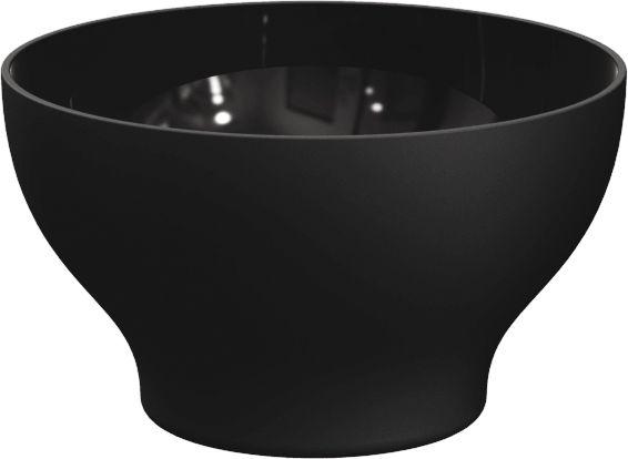 Kit 6 Cumbucas Tigela 500ml Plástico UZ Utilidades Preto