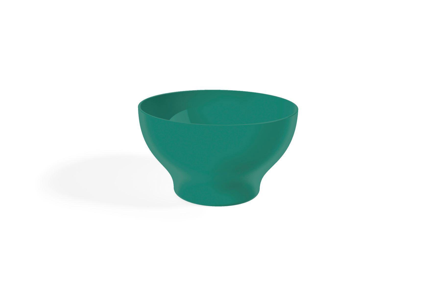 Kit 6 Cumbucas Tigela 500ml Plástico UZ Utilidades Verde
