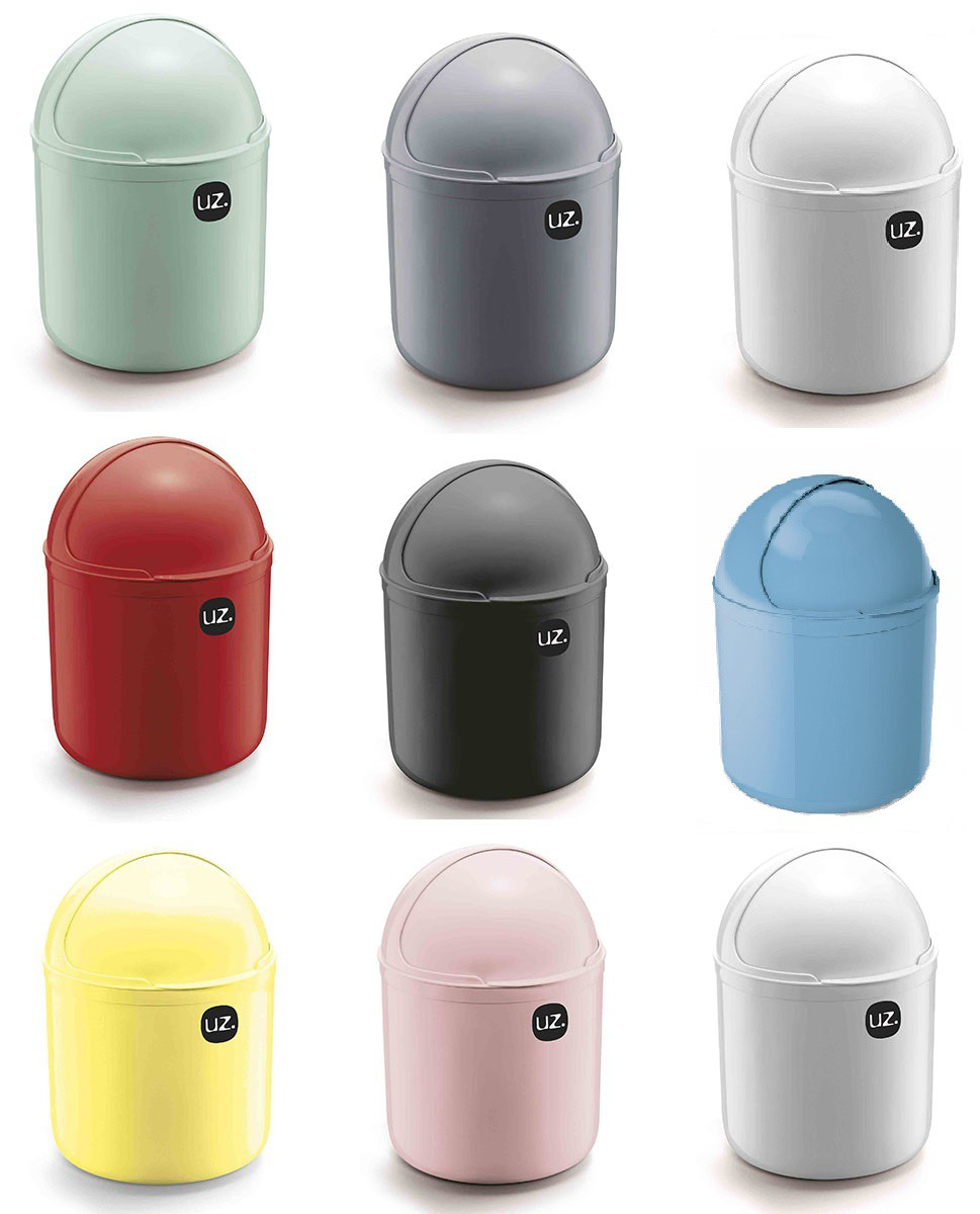 Lixeira Para Pia Plástico 4 Litros UZ Utilidades