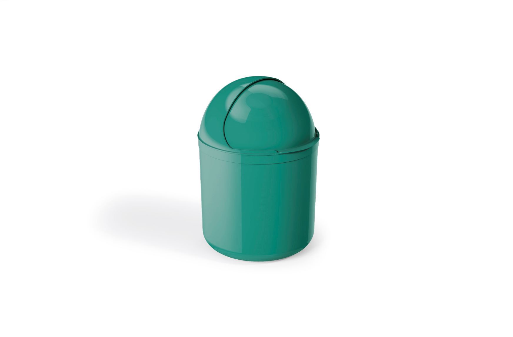 Lixeira Para Pia Plástico 4 Litros - UZ  Verde