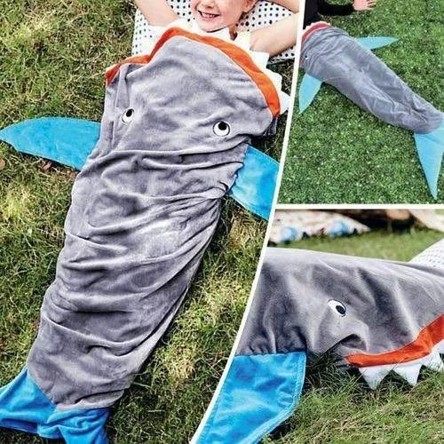 Manta Cobertor Infantil Saco de Dormir Buettner - Baleia