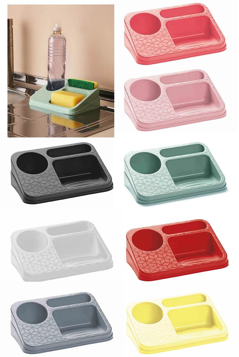 Organizador De Pia Cozinha Porta Detergente Uz Varias Cores
