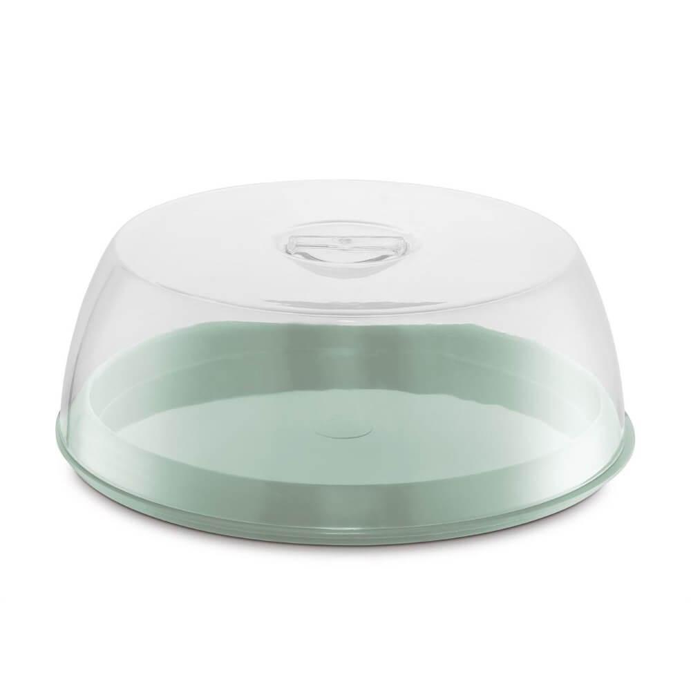 Porta Bolo Plus Plástico/Acrílico  UZ - Verde