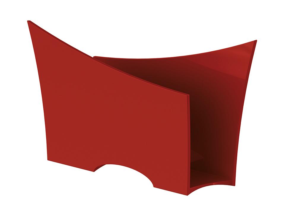 Porta Guardanapo Quadrado Plástico UZ Utilidades Vermelho