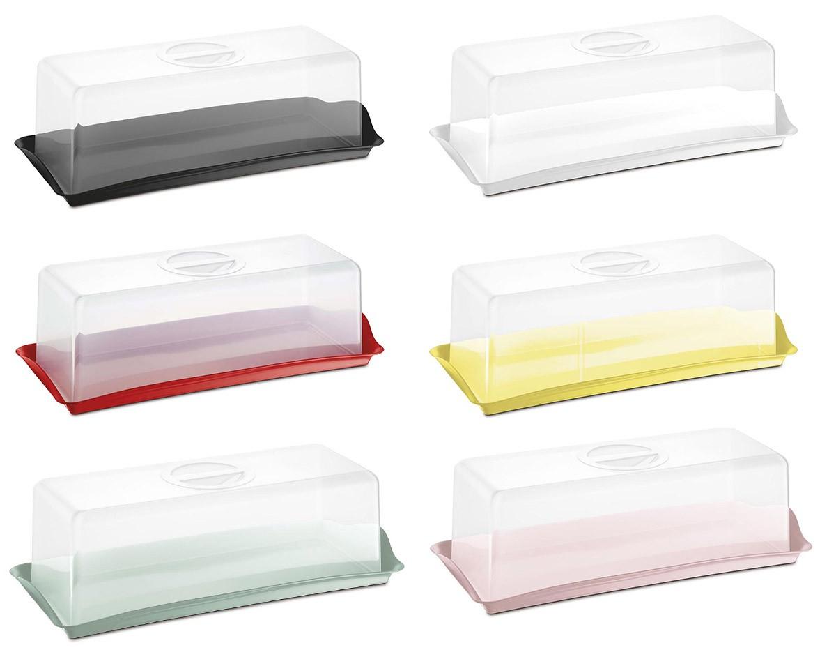 Porta Pão de Forma Transparente Plastico Varias Cores Uz