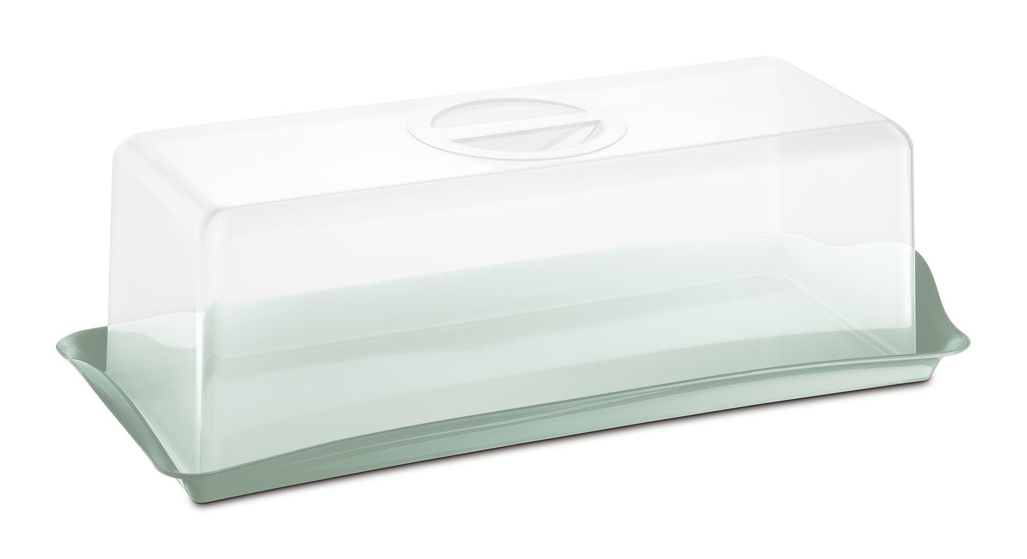 Porta Pão Premium Plástico Uz Utilidades Verde