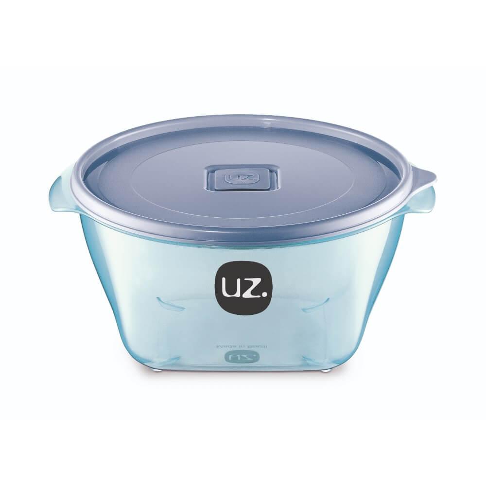 Pote Redondo Premium 2 Litros Vision UZ - Azul
