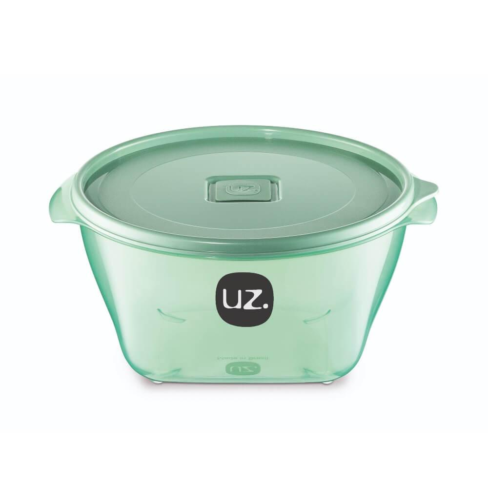 Pote Redondo Premium 2 Litros Vision UZ - Verde