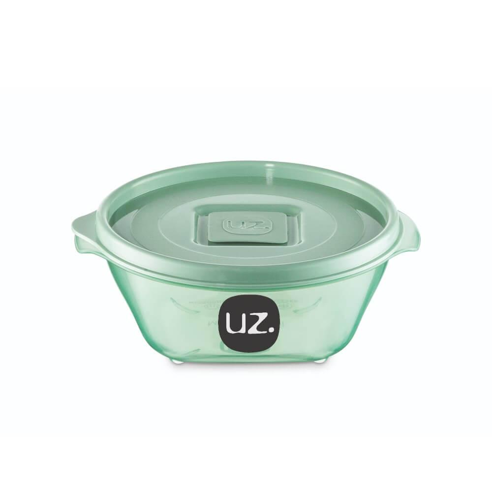 Pote Redondo Premium 350ML Vision UZ - Verde