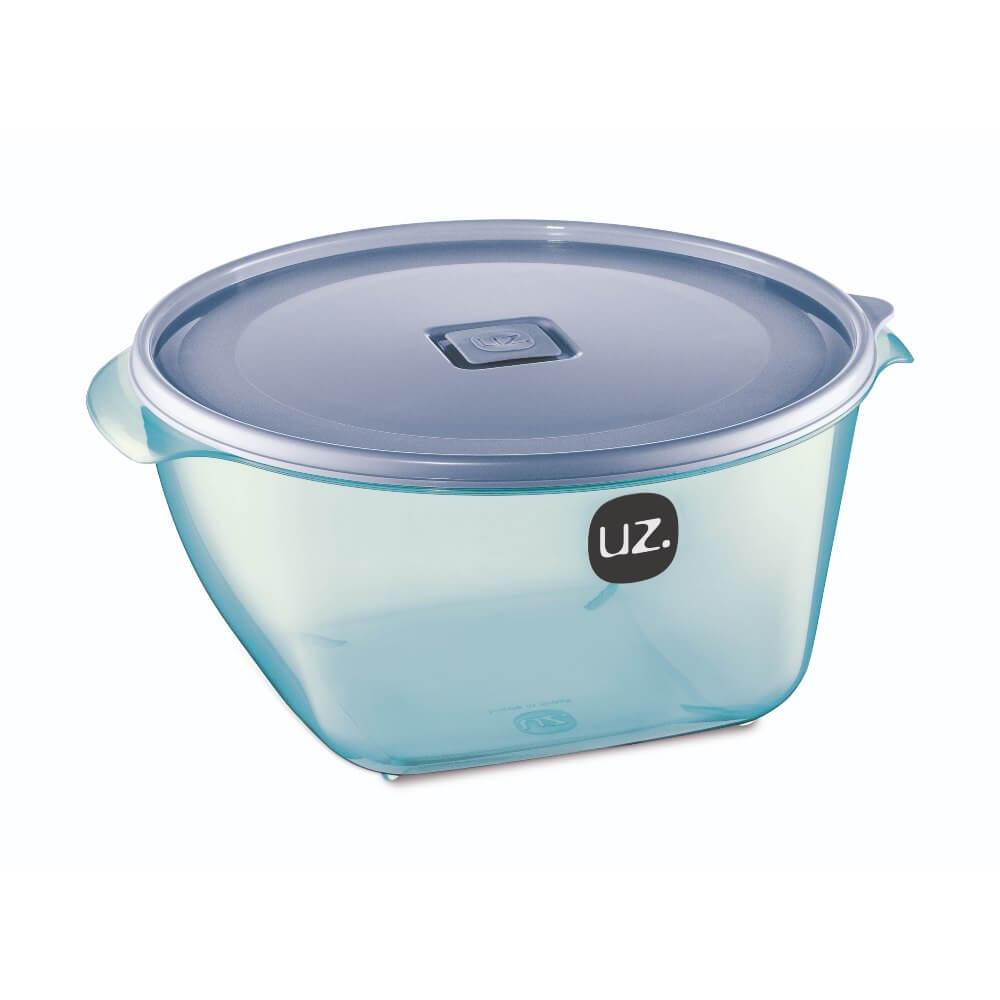 Pote Redondo Premium 4 Litros Vision Uz - Azul