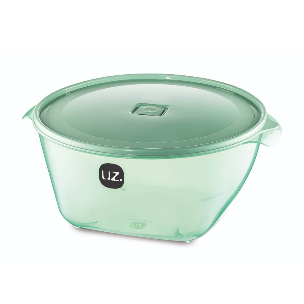 Pote Redondo Premium 6 Litros Vision UZ - Verde