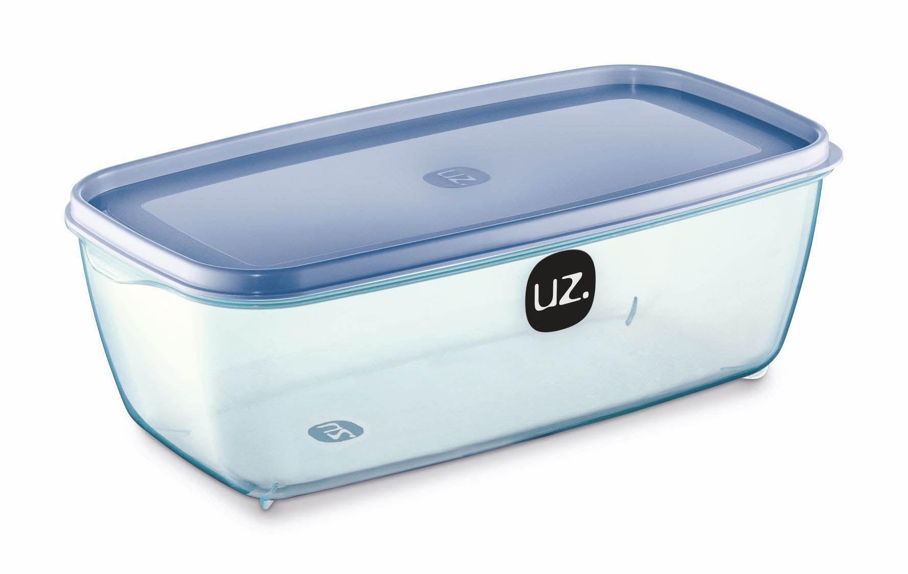 Pote Retangular 3 Litros Vision UZ - Azul