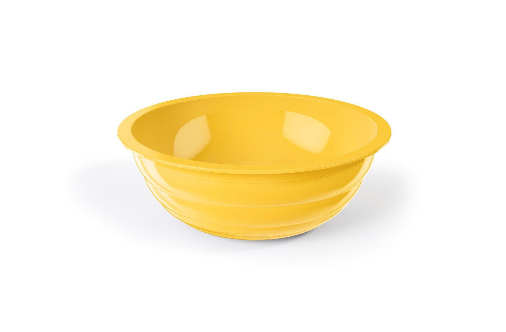 Saladeira 4 Litros Gomada UZ - Amarelo