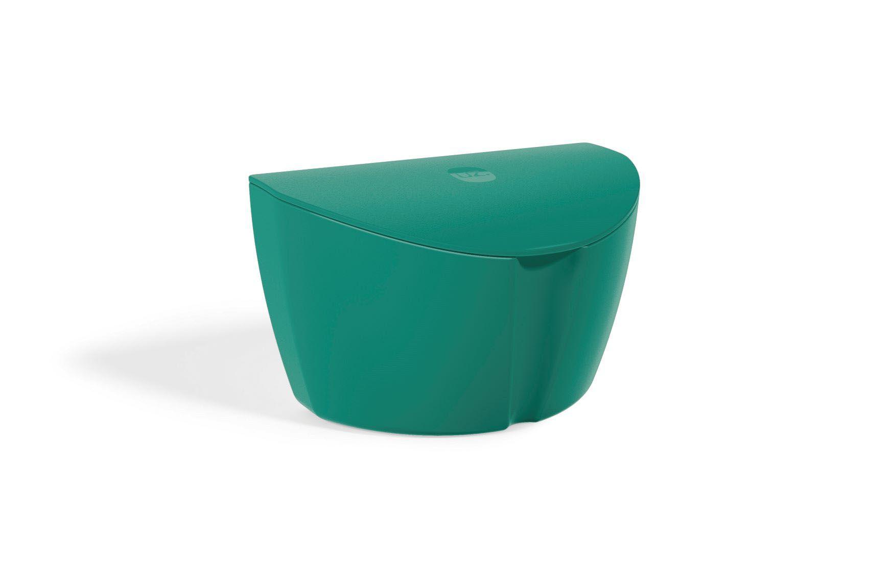 Saleiro Plástico Sólido em Polipropileno 500ML UZ - Verde