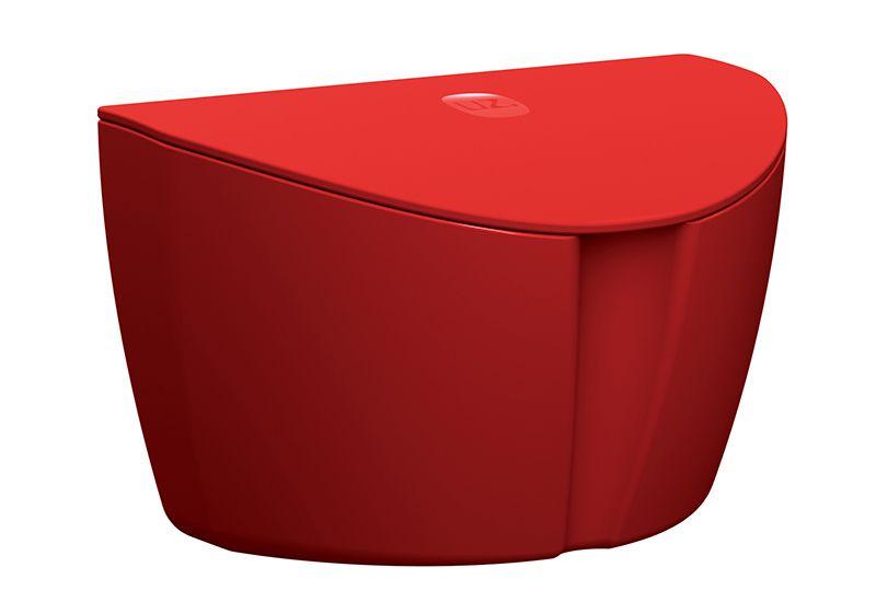 Saleiro Plástico Sólido em Polipropileno 500ML UZ - Vermelho
