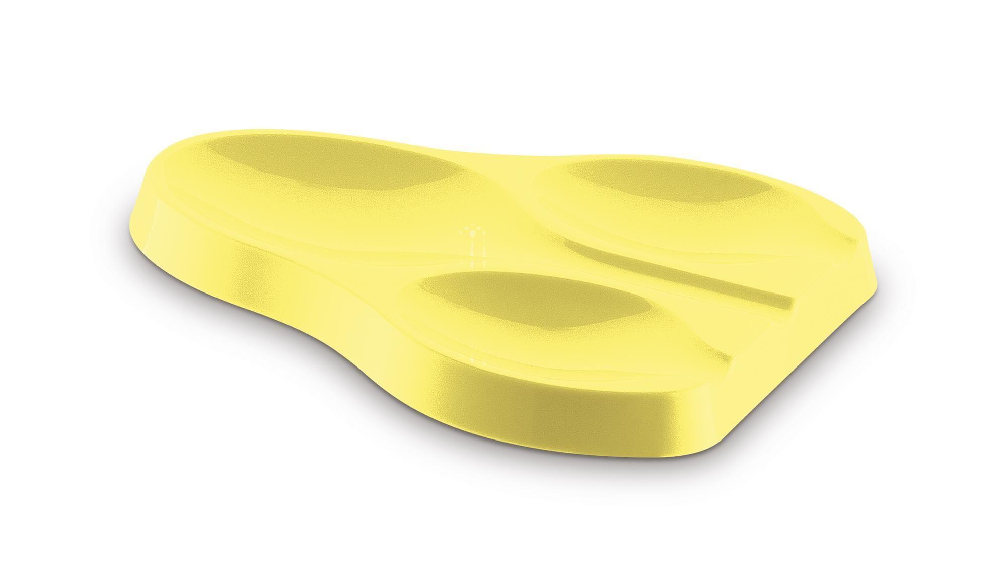 Suporte Apoio Para Colher Plus 3 Lugares UZ Amarelo