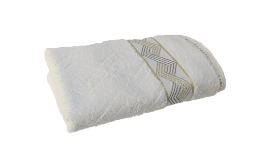 Toalha De Banho Jasper 100% Algodão Bouton Buettner - Branco