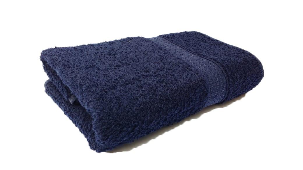 Toalha De Banho Nobre Natural 100% Algodão Bouton Buettner - Blue Navy