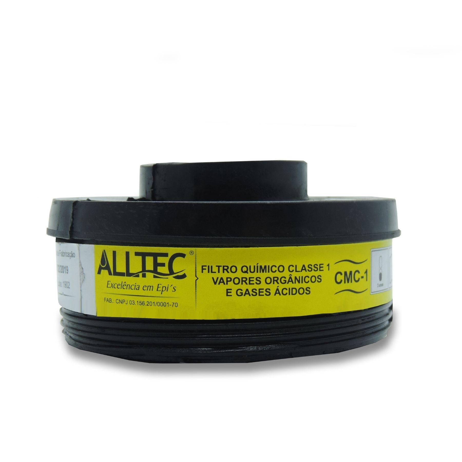 Filtro p/ Máscara Semifacial VO/GA Alltec Preto