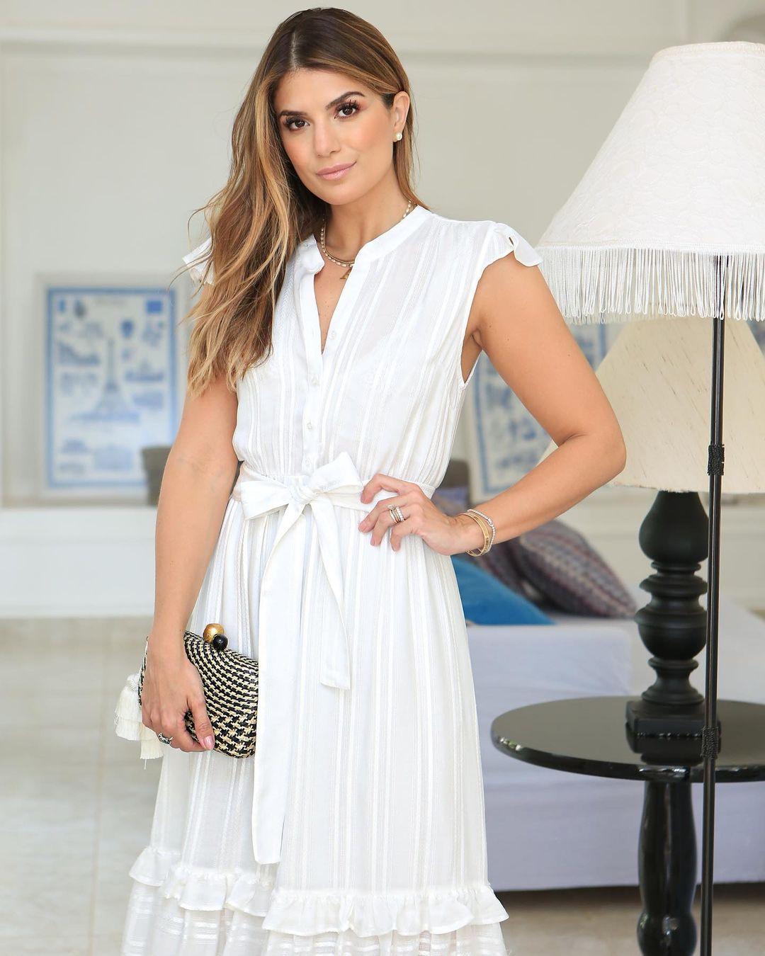 Vestido Maxi Midi Soltinho com Botões Milalai Ariane