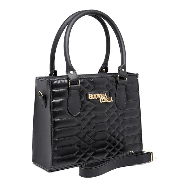 Kit Bolsas Femininas Luxo Black Ébano