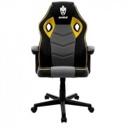 CADEIRA GAMER EG903/HUNTER AMARELO  - EVOLUT