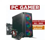 Computador Intel Core I5 9400F, 16GB Ram, 1 TB HD Seagate, SSD 240Gb , Placa de vídeo 1660 Super