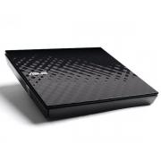 GRAVADOR EXTERNO CD/DVD ASUS SLIM SDRW-A8D2S-U USB 2.0 PRETO
