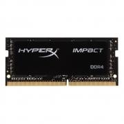 MEMORIA PARA NOTEBOOK DDR4 16GB 2400MHZ KINGSTON HYPERX IMPACT PRETO