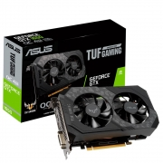 PLACA DE VÍDEO ASUS GEFORCE TUF GAMING GTX1650/OC/4GB/GDDR6/HDMI/DP/DVI