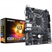 PLACA MÃE 1151 H310M H 2.0 GIGABYTE DDR4/HDMI/VGA