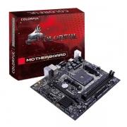 PLACA MÃE AMD AM4 DDR4 COLORFUL A320M-K PRO V14 VGA/HDMI/USB