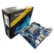 PLACA MÃE  IPX4005E PCWARE CELERON DUAL CORE J4005-DDR4-MINI ITX-VGA