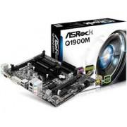 PLACA MÃE ASROCK Q1900M + PROCESSADOR INTEL QUAD-CORE VGA/HDMI/DVI/DDR3/DDR3L