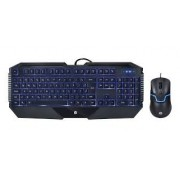 TECLADO E MOUSE HP USB GAMER GK1100 PRETO