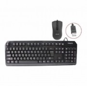 TECLADO E MOUSE USB PHILIPS C201