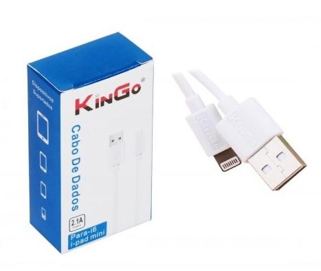 CABO DE CELULAR IPHONE 6/7/8/X KINGO 2M
