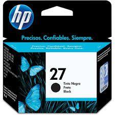 CARTUCHO HP 27 PRETO