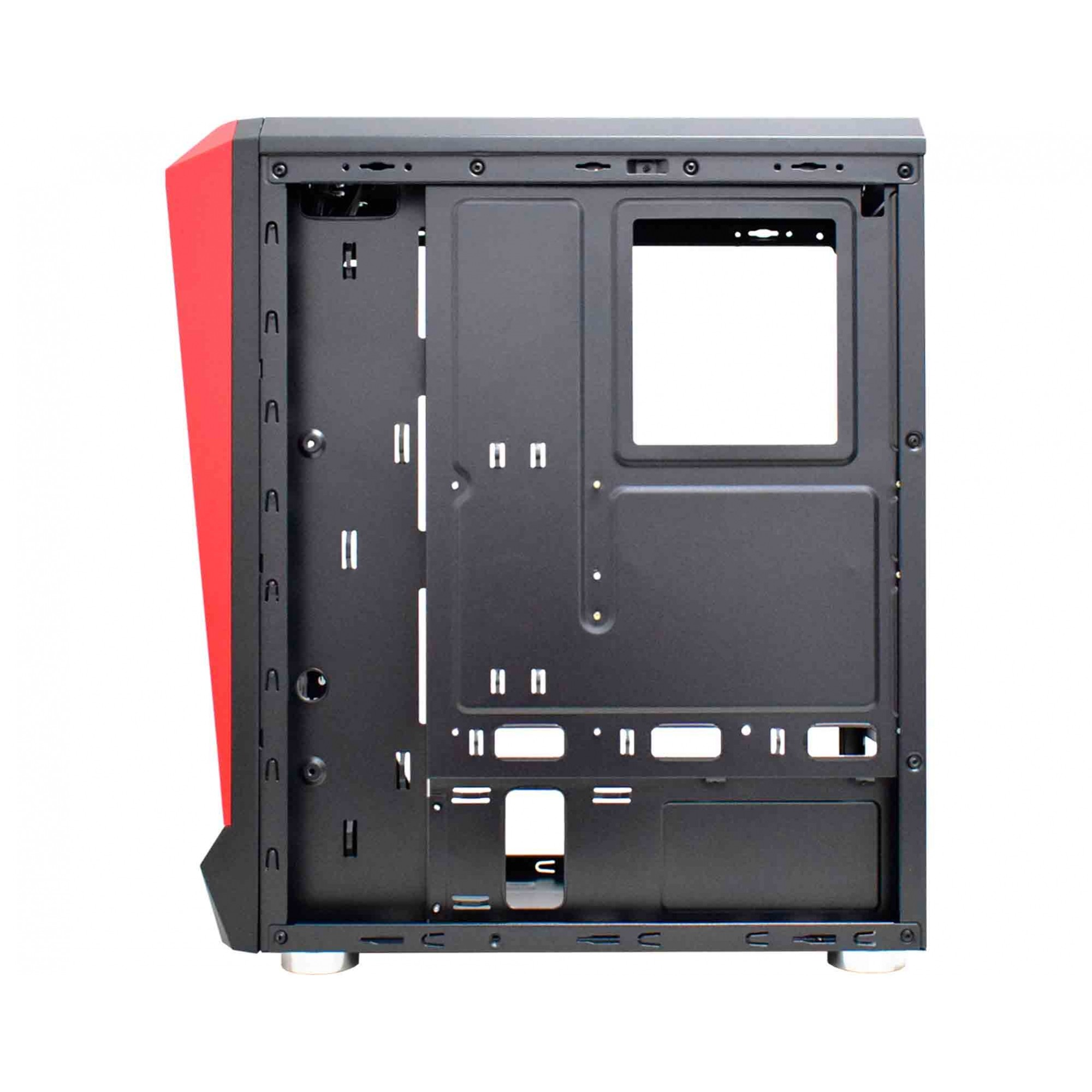 GABINETE GAMER K-MEX ATX/MICRO ATX/ITX SEM FONTE HAWK III CG-03Q1 PRETO RGB