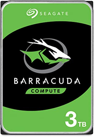 HD SATA 3TB SEAGATE BARRACUDA
