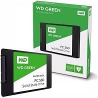 HD SSD 240GB WESTERN DIGITAL GREEN SATA3 2.5 7MM WDS340G2G0A