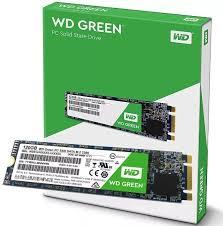 HD SSD M2 120GB WESTERN GREEN