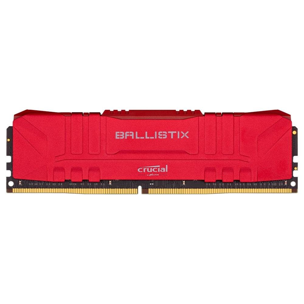 MEMORIA DDR4 8GB 3000MHZ CRUCIAL BALLISTIX RED