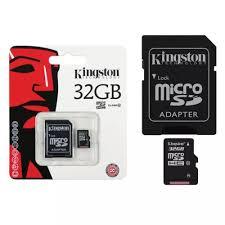 MEMÓRIA MICRO SD KINGSTON 32GB CLASSE 4