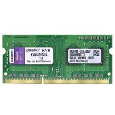 MEMÓRIA PARA NOTEBOOK DDR3 4GB 1333MHZ KINGSTON