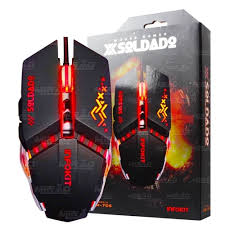 MOUSE GAMER SOLDADO GM-705 RGB INFOKIT